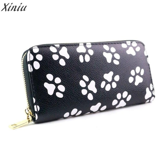 Wallets  Women lovely Smiling Face pattern