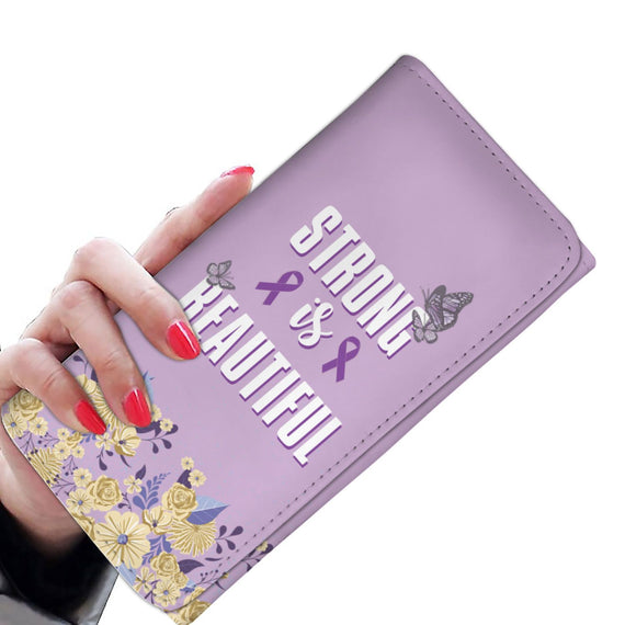 STRONG AND BEAUTIFUL RFID WOMEN WALLET