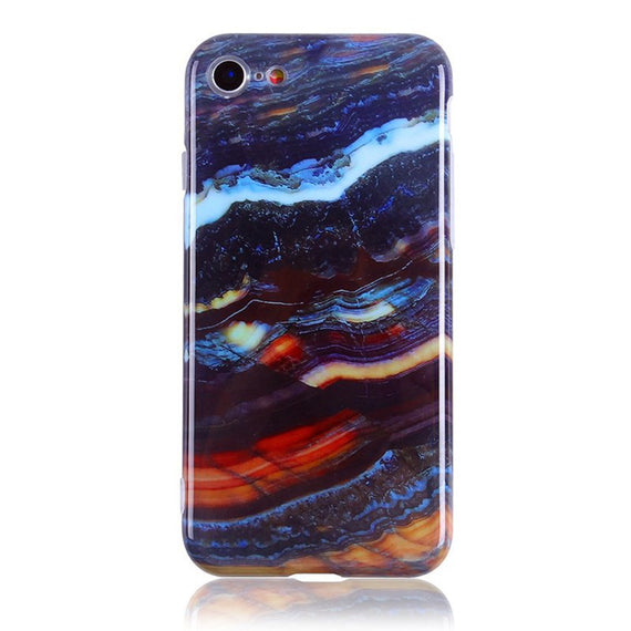 Onyx Marble iPhone Case