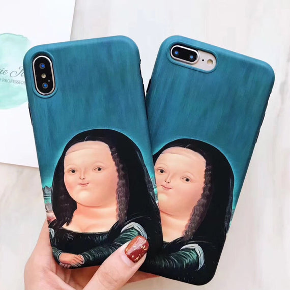 The Hoax Mona Lisa iPhone Case