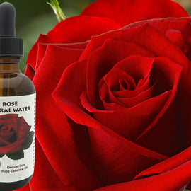 Rose Floral Water (Hydroflorate or Hydrosol) for
