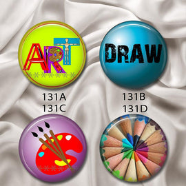 Love Art - Interchangeable Magnetic Design Inserts