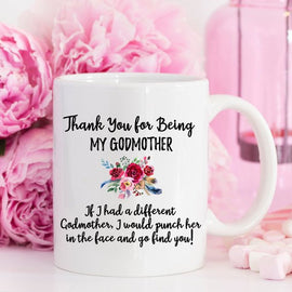 Godmother Gift for Godmother Mug Family Mug for