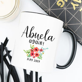 Spanish Grandma Mug New Abuela Gift for Abuela
