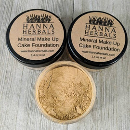 Cake Foundation - foundation - mineral makeup -