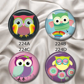 Hoot Owls - Interchangeable Magnetic Design