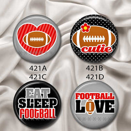 Love Football - Interchangeable Magnetic Design