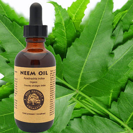 100% Pure Neem Oil 4oz (organic, undiluted,