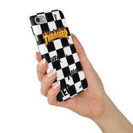 THRASHER Magazine Vans Checkerboard iPhone case