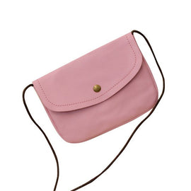 bags women  leather handbags candy color mini