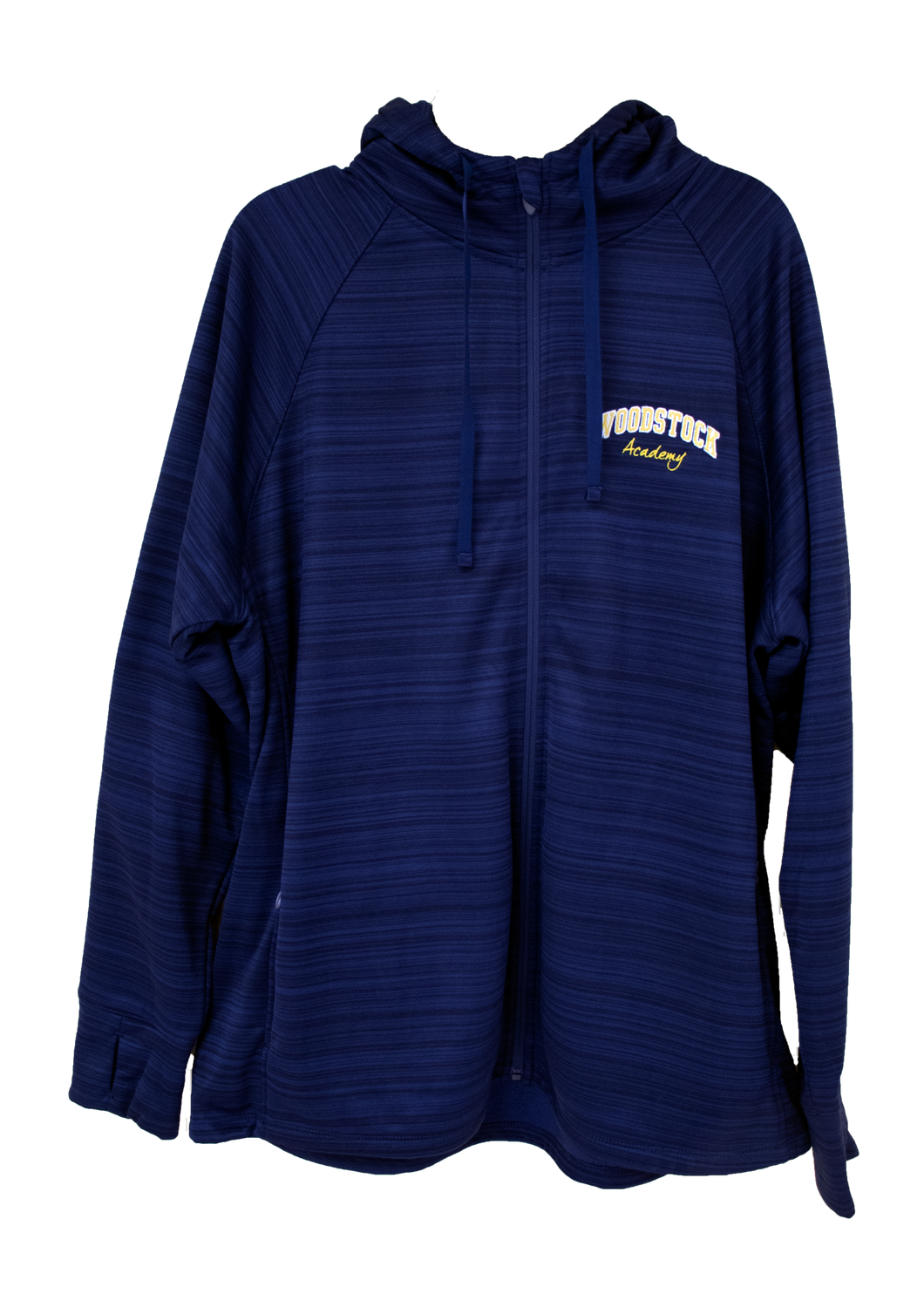 Full Zip Shimmer Hooded Fleece