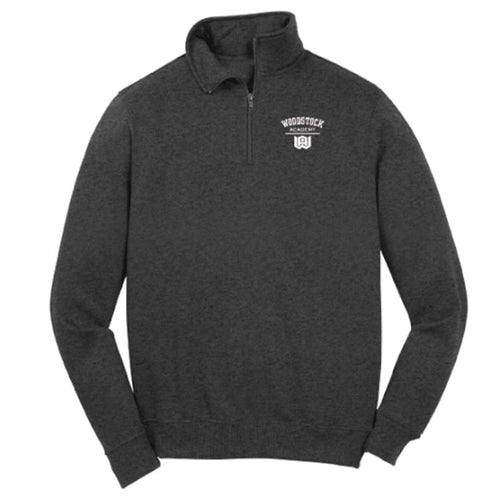 Men's Fleece Quarter Zip Sweatshirt