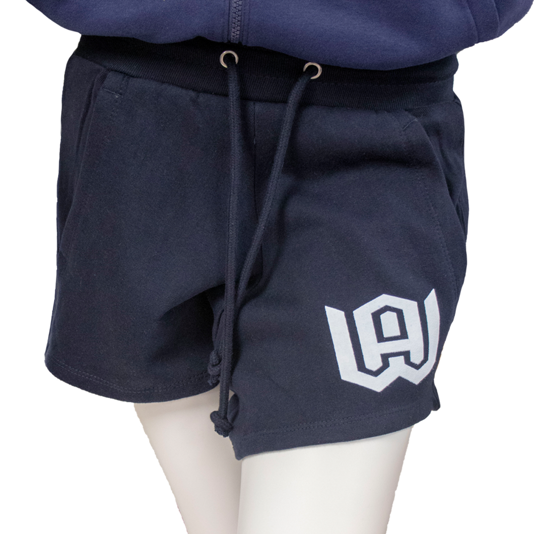 Women's Fleece Pocketed Shorts