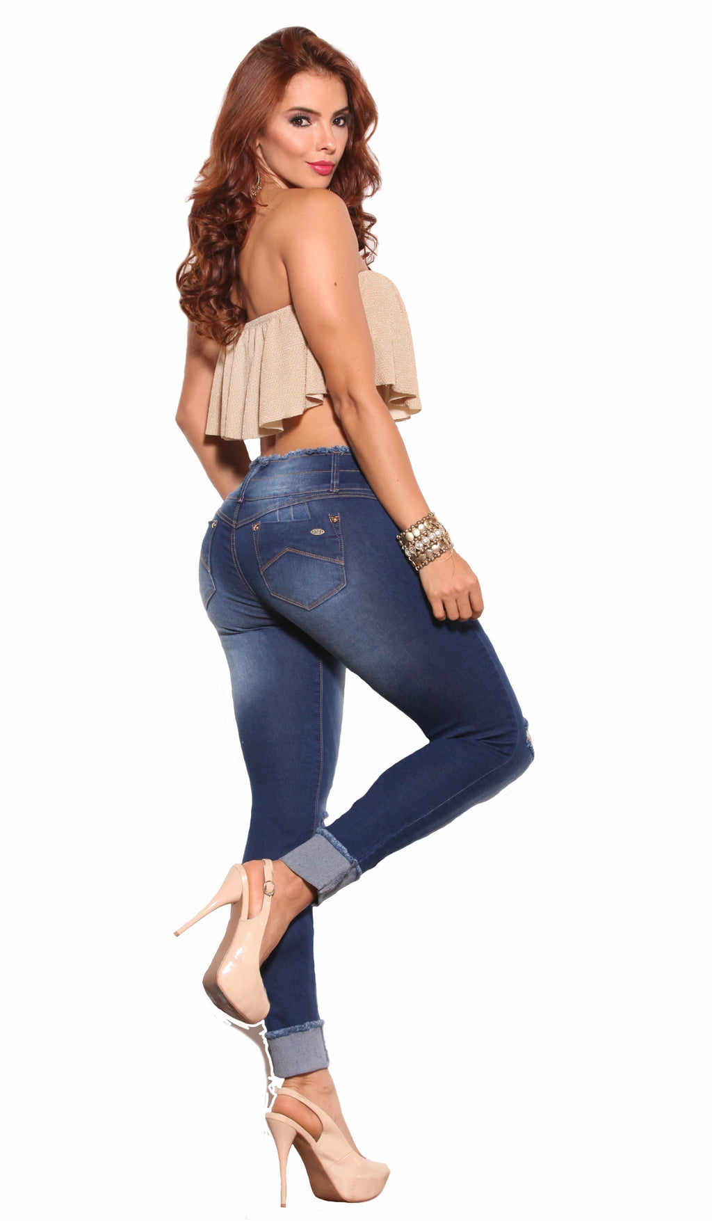 Jeans Colombianos 3568 - Public Style Levanta Pompa