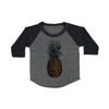 Pineapple Baby Baseball Shirt
