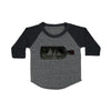 Record Player Baby Baseball Shirt