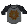 Orange Slice Toddler Baseball Shirt