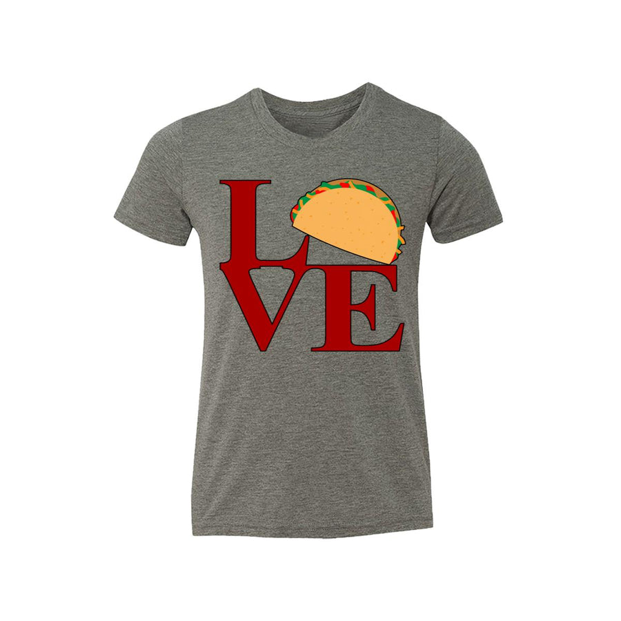 Love Sculpture With Taco Kids Tee Shirt