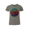 Watercolor Circle Kids Tee Shirt