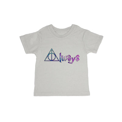 Always Deathly Hallows Galaxy Baby Organic Tee Shirt