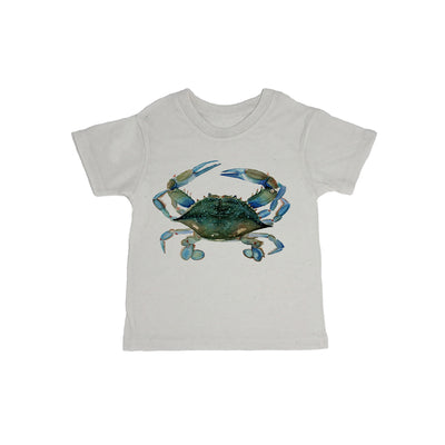 Blue Claw Crab Baby Organic Tee Shirt
