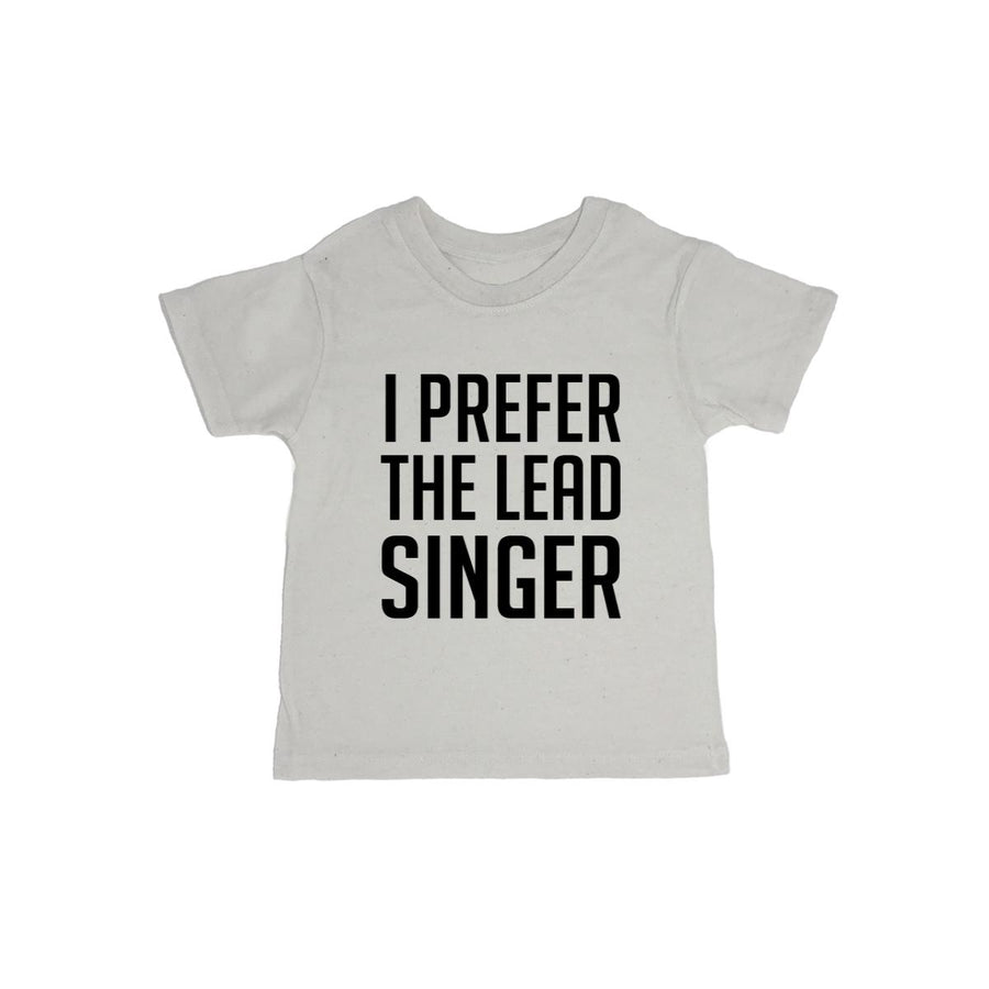 I Prefer The Lead Singer Baby Organic Tee Shirt