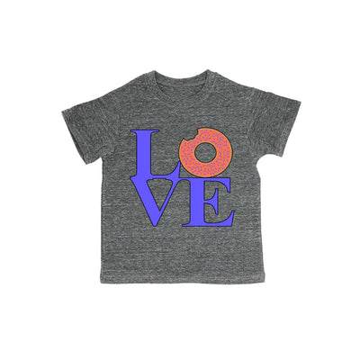 Love Sculpture With Donut Baby Organic Tee Shirt