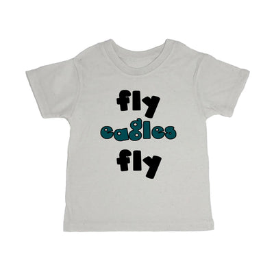 Fly Eagles Fly Toddler Organic Tee Shirt