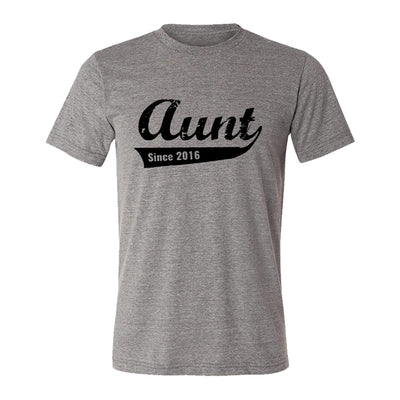 Aunt Since 2016 Adult Tee Shirt