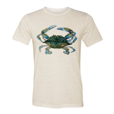 Blue Claw Crab Adult Tee Shirt