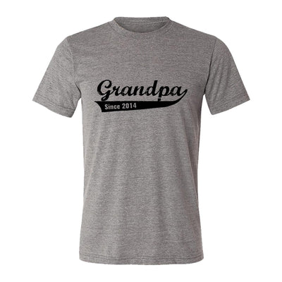 Grandpa Since 2014 Adult Tee Shirt