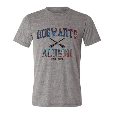 Hogwarts Alumni Galaxy Adult Tee Shirt