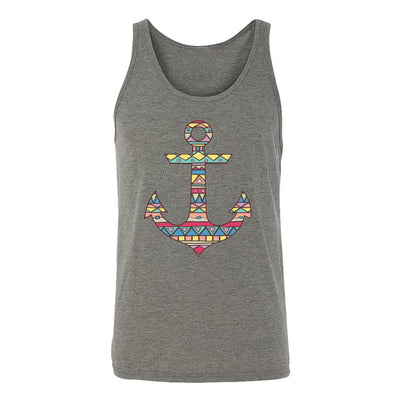 Aztec Pattern On Anchor Adult Tank