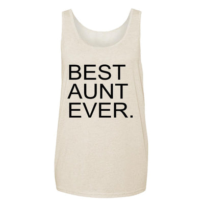 Best Aunt Ever. Adult Tank