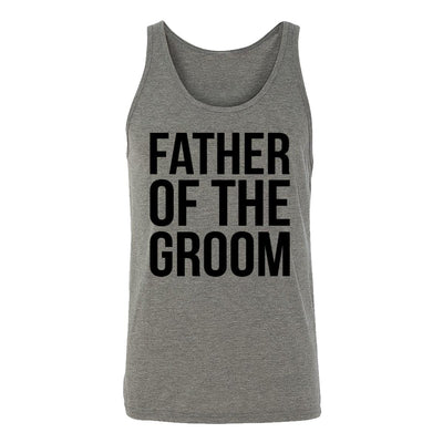 Father Of The Groom Adult Tank