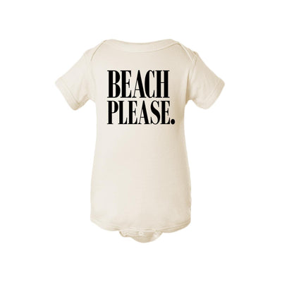 Beach Please. Baby Onesie