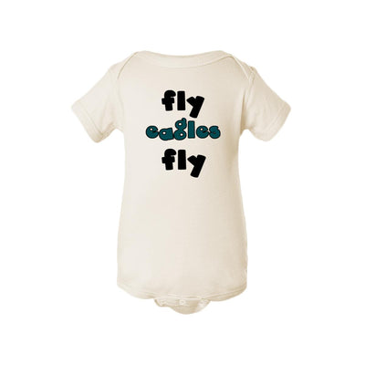 Fly Eagles Fly Baby Onesie