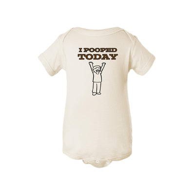 I Pooped Today Baby Onesie
