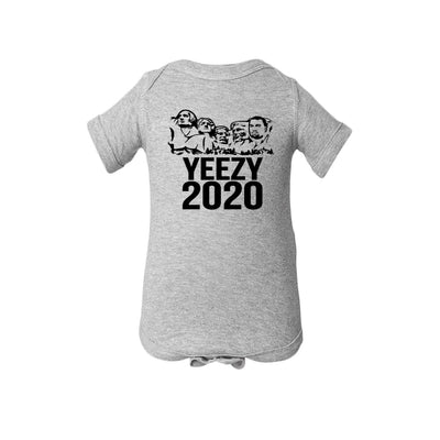 Mount Rushmore With Kanye 2020 Baby Onesie