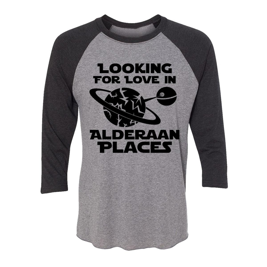 Looking For Love In Alderaan Places Adult Baseball Shirt