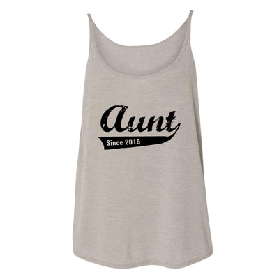 Aunt Since 2015 Womens Tank