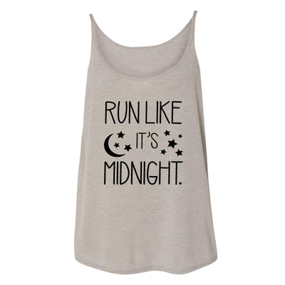Run Like It's Midnight Womens Tank