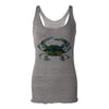 Blue Claw Crab Womens Racerback Tank