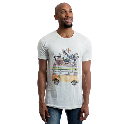 TEST VW Bus Adult Tee Shirt