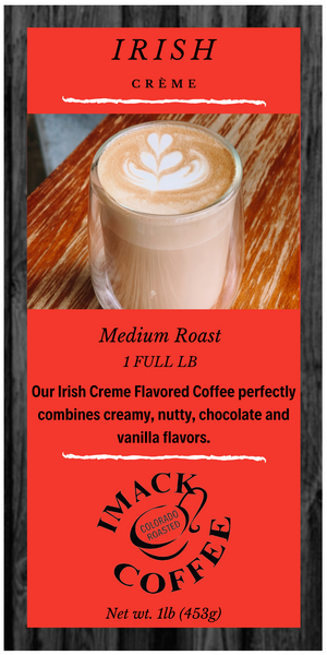 Irish Crème Flavored Coffee