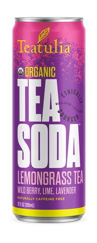 Teatulia Lemongrass Tea Soda