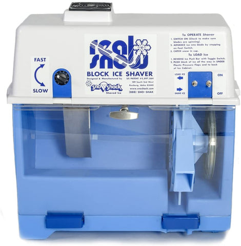 Block Ice Shave Machine