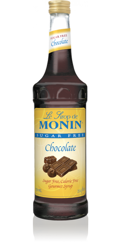 Monin Chocolate Sugar Free Syrup