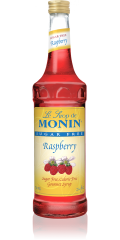 Monin Raspberry Sugar Free Syrup