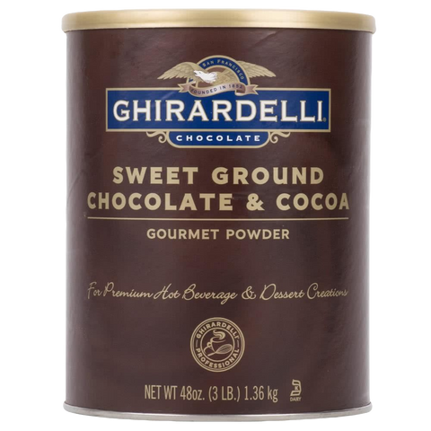 Ghirardelli Sweet Ground Chocolate and Cocoa Powder